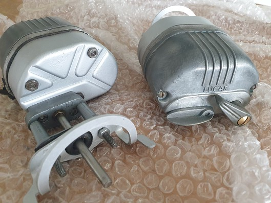 Regurbished Lucas FW2 wiper motors in really lovely condition. As was becoming a pattern, these were an expensive eBay purchase. I hope they work!