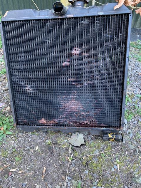 A pretty rotten  looking radiator.